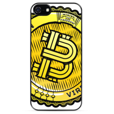 Чехол для iPhone BITCOIN — VIRES IN NUMERIS