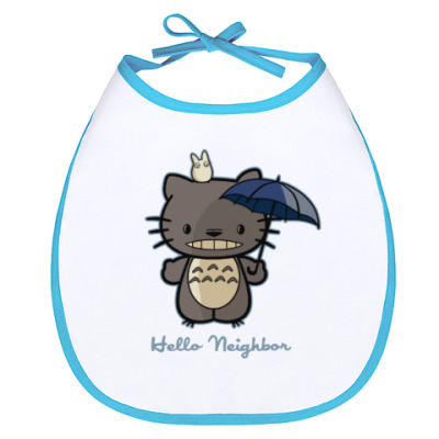 Слюнявчик Hello Totoro
