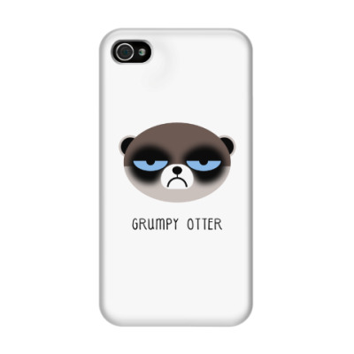 Чехол для iPhone 4/4s Grumpy Animals