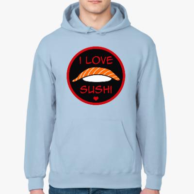 Толстовка худи Я люблю суши