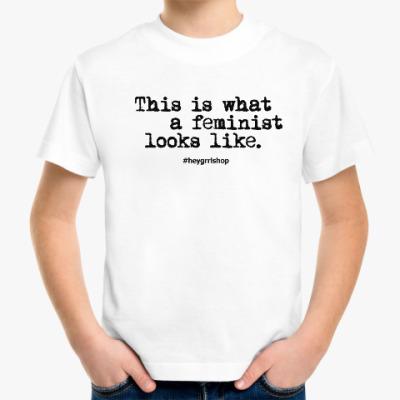 Детская футболка F*** slogan детская