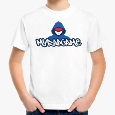 Детская футболка Детская футболка Fruit of the Loom (белая)