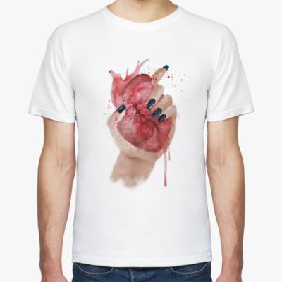 Футболка Сердце в руке