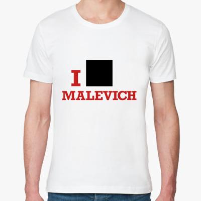 Футболка из органик-хлопка  Malevich