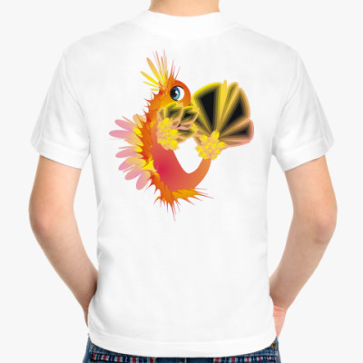 Детская футболка Морской Дракон