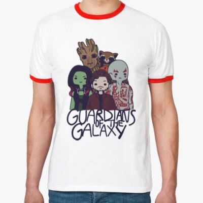Футболка Ringer-T Стражи галактики