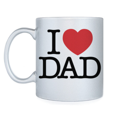 Кружка i love DAD
