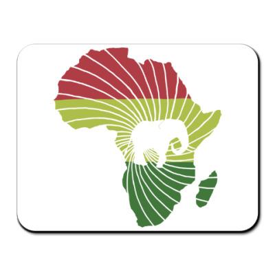 Коврик для мыши Африканский слон