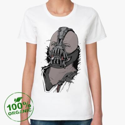 Женская футболка из органик-хлопка Бэйн, Темный Рыцарь
