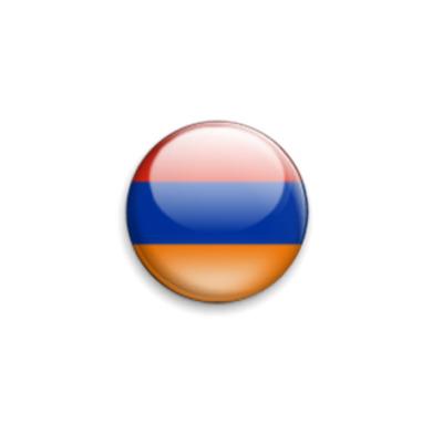 Значок 25мм Флаг Армении