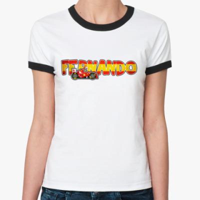 Женская футболка Ringer-T FERNANDO