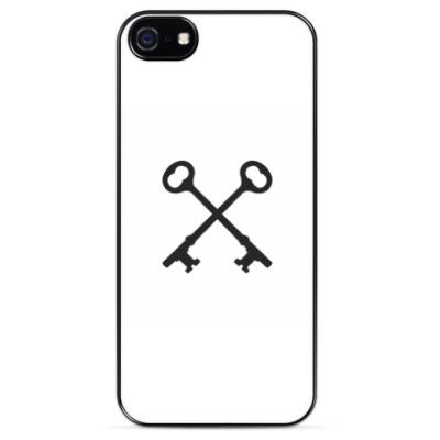 Чехол для iPhone Перекрещенные ключи