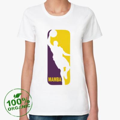 Женская футболка из органик-хлопка Black Mamba