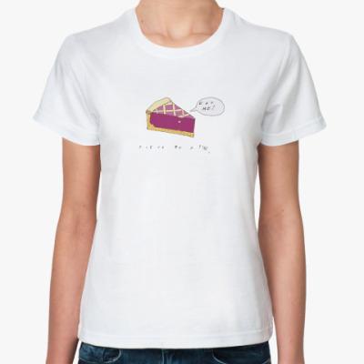 Классическая футболка eat me!