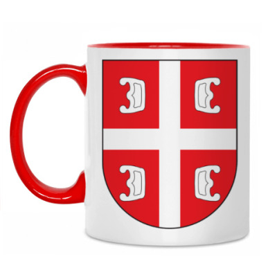 Кружка Сербский щит