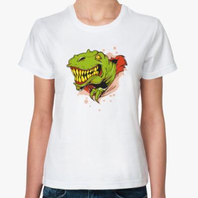 Классическая футболка динозавр