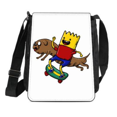 Сумка-планшет Время приключений
