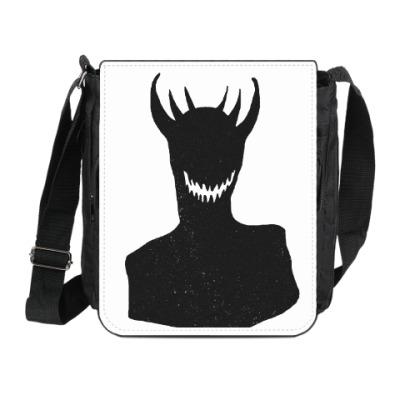 Сумка на плечо (мини-планшет) Черный король