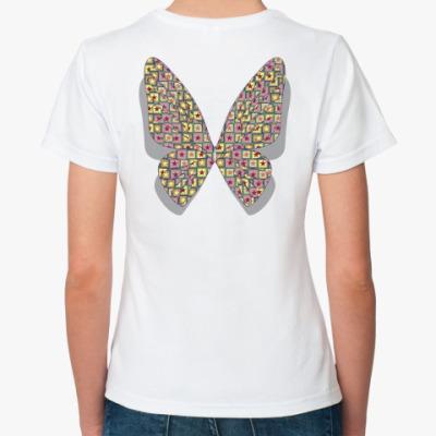 Классическая футболка Крылья-звёзды