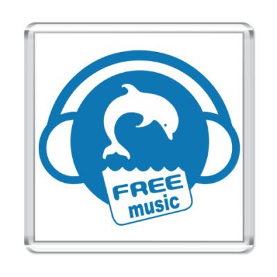 Магнит Free Music