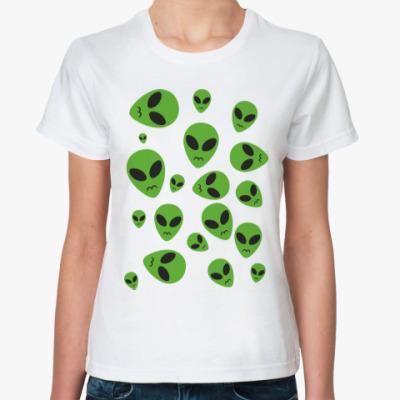 Классическая футболка Инопланетянин