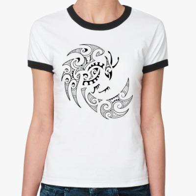 Женская футболка Ringer-T Фэнхуан