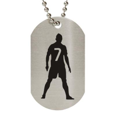 Жетон dog-tag Ronaldo 7