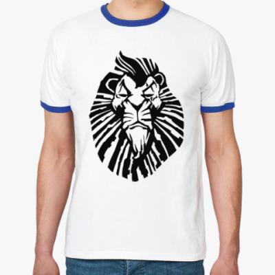 Футболка Ringer-T Важный лев