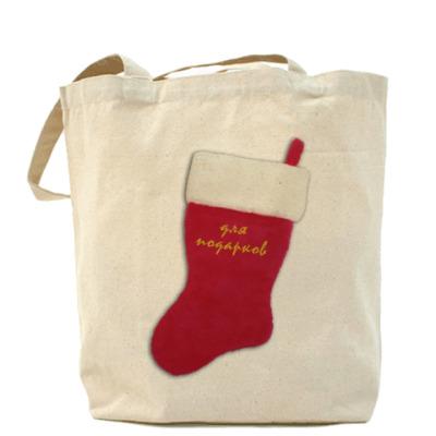 Сумка Носок для подарков