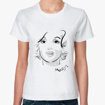 Классическая футболка Marilyn Monro