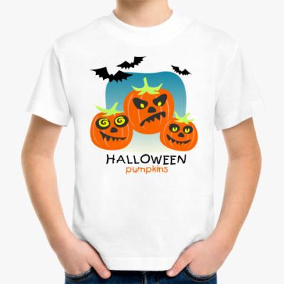Детская футболка 'Тыквы'