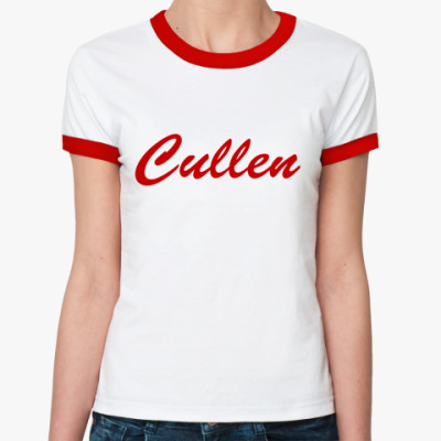 Женская футболка Ringer-T Cullen