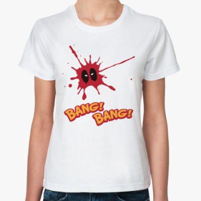 Классическая футболка Дэдпул (Deadpool)