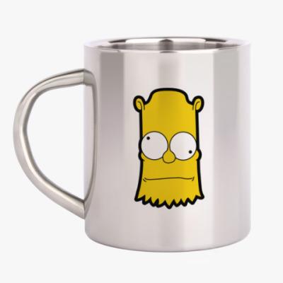 Кружка металлическая Crazy Bart