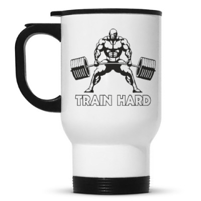 Кружка-термос Train hard