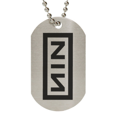 Жетон dog-tag Nine Inch Nails