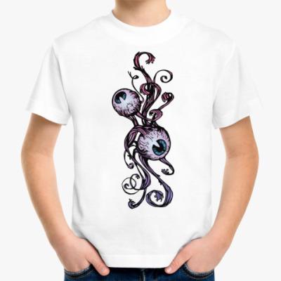 Детская футболка Глазки
