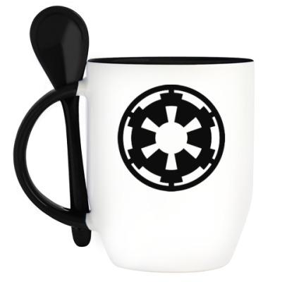 Кружка с ложкой Star Wars Empire