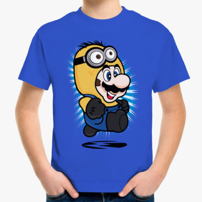 Детская футболка Супер Марио Миньон
