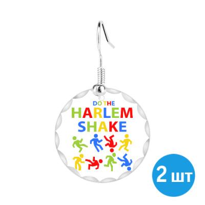 Серьги Harlem Shake