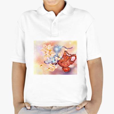 Детская рубашка поло Лампа с джинном