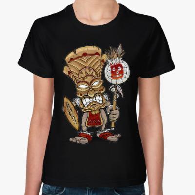Женская футболка Воин Тики