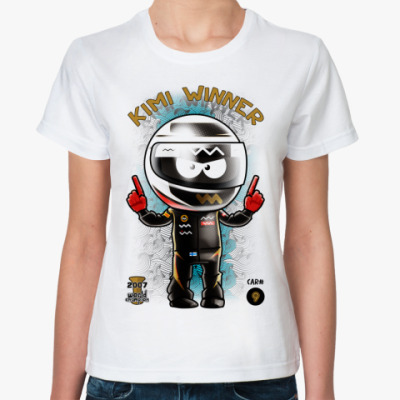 Классическая футболка Kimi Winner!