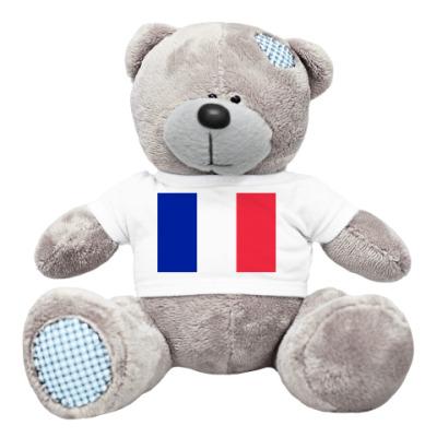Плюшевый мишка Тедди Франция
