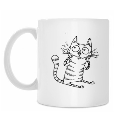 Кружка Кот с косточкой