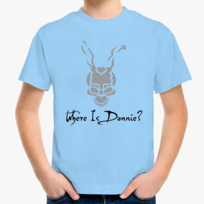 Детская футболка Где Донни?
