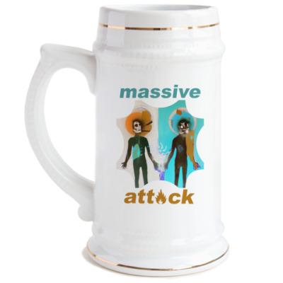 Пивная кружка Massive attack