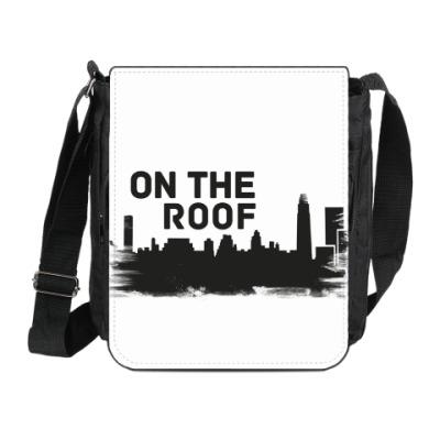 Сумка на плечо (мини-планшет) On the roof
