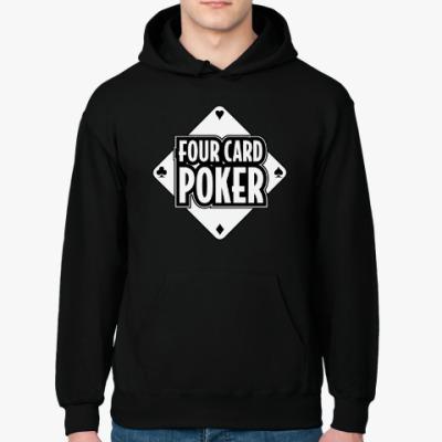 Толстовка худи Four Card Poker