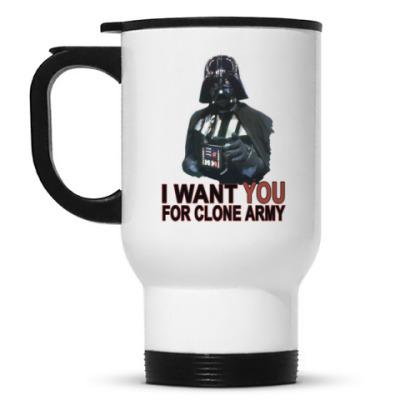 Кружка-термос Star Wars Darth Vader